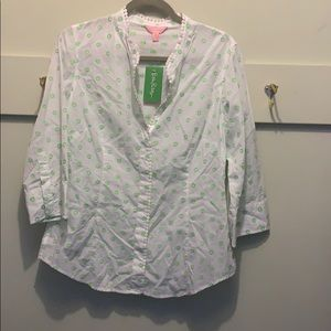Lilly Pulitzer 3/4 blouse